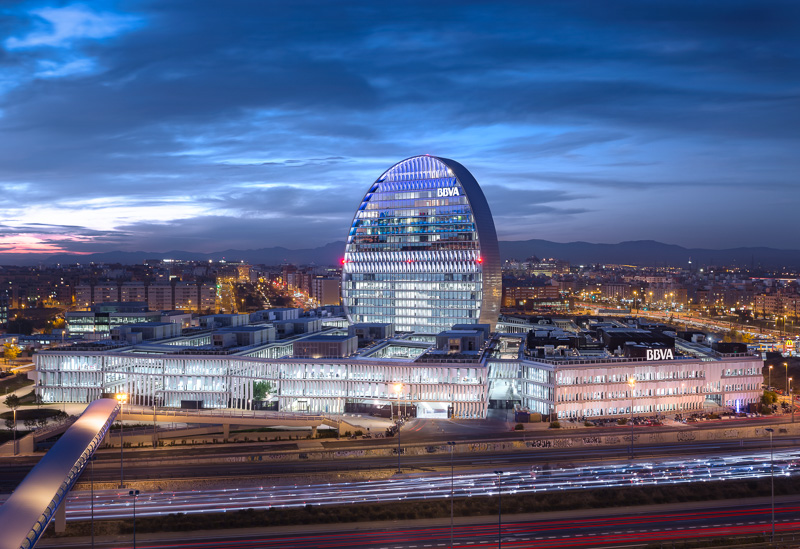 NEW HEADQUARTERS FOR BBVA, MADRID